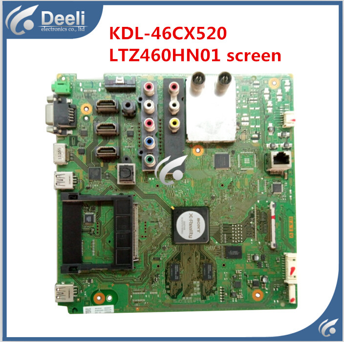 95% new Original used for motherboard LED KDL-46CX520 screen LTZ460HN01 good working fifty shades darker no bounds riding crop длинный стек из натуральной кожи