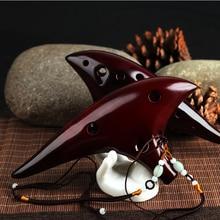 12 Hole Ocarina Ceramic Alto C Legend of Zelda Flute Instrument