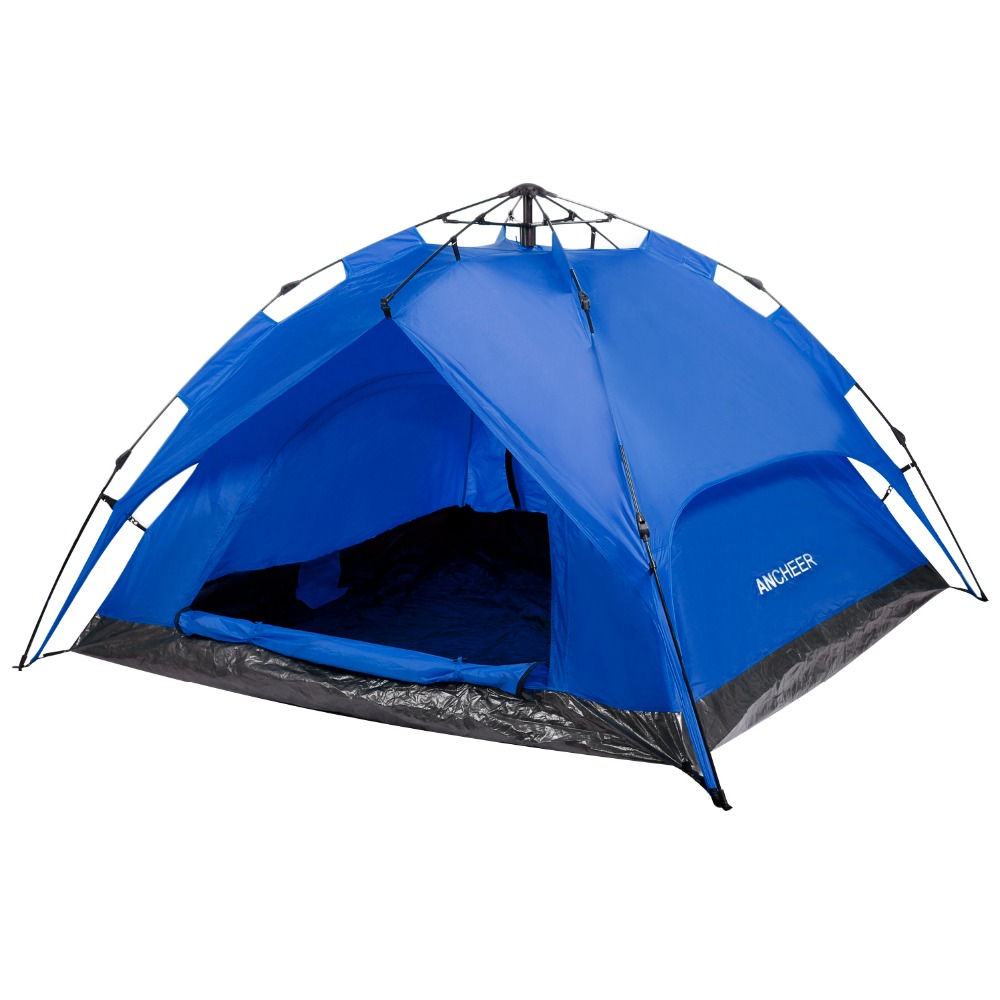 2-3 Person Camping Hiking Tent Dome Tent Dual Layer Design Sets up In Seconds Camping Tents 2-3 Person Camping Hiking Tent Dome Tent Dual Layer Design Sets up In Seconds Camping Tents