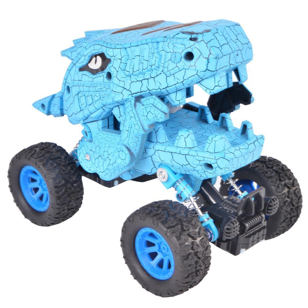 Dinosaur Monster Truck Toys,Graffiti Die-cast Pull Back Car Toys with Spring & Big Rubber Tires,Toddler Kids Vehicle ToysDinosaur Monster Truck Toys,Graffiti Die-cast Pull Back Car Toys with Spring & Big Rubber Tires,Toddler Kids Vehicle Toys