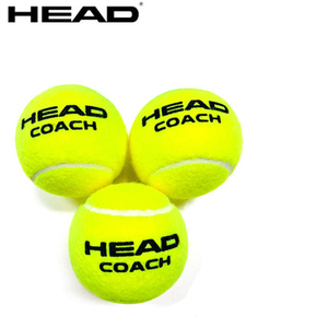 Original Head Tennis Ball Natural Rubber Wool Balls HEAD COACH Training Ball Tennis Trainer Tennis Ball Standard Pelotas Tenis