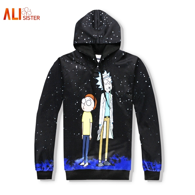 Rick And Morty- 3d Hoodies