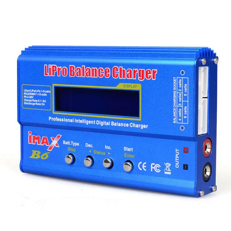 iMAX B6 Mini 80W Balance Charger/Discharger FRC Helicopter Quadcopter Battery Charging