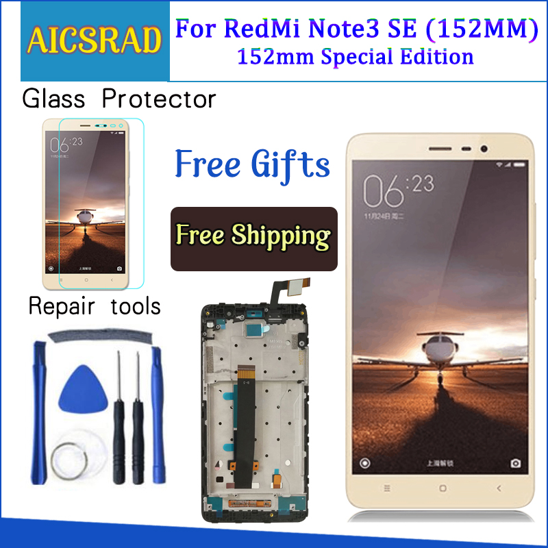 For Xiaomi Redmi Note 3 Pro SE LCD Display Touch Screen Digitizer Assembly For Redmi Note3 Prime Special Edition Global Version
