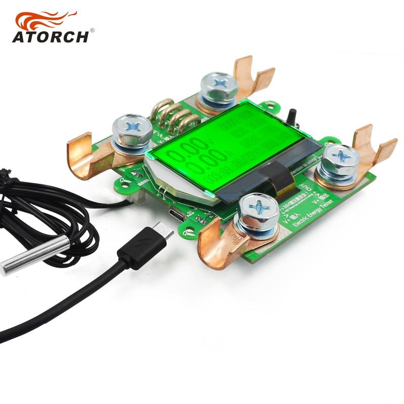 ATORCH täpse energiamõõturi pinge voolutugevus alalisvool 300 V / - Mõõtevahendid - Foto 5