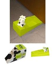 Симпатичные Корова Главная Декоративный Орнамент Дверь Пробка стоп Двери Протектор