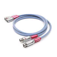 SQ-88B OCC copper Silver-plated XLR interconnect cable with Pailiccs XLR plug cable