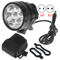 Flash Sale 7 Cree XML T6 LED Bicycle Light 8400LM Rechargeable Bike Lamp Night Torch