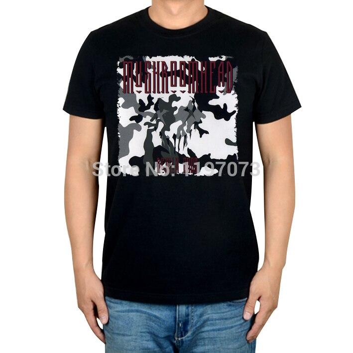 Бесплатная доставка Mushroomhead Remix 2000 альтернативные Металл Мужская Черный Топ хлопковая футболка