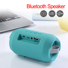 Fashion Mini Outdoor Wireless Bluetooth Speakers Portable Subwoofer Speaker Support TF card FM Stereo Built in MIC цены онлайн