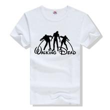 The Walking Dead Print Cotton T-Shirt