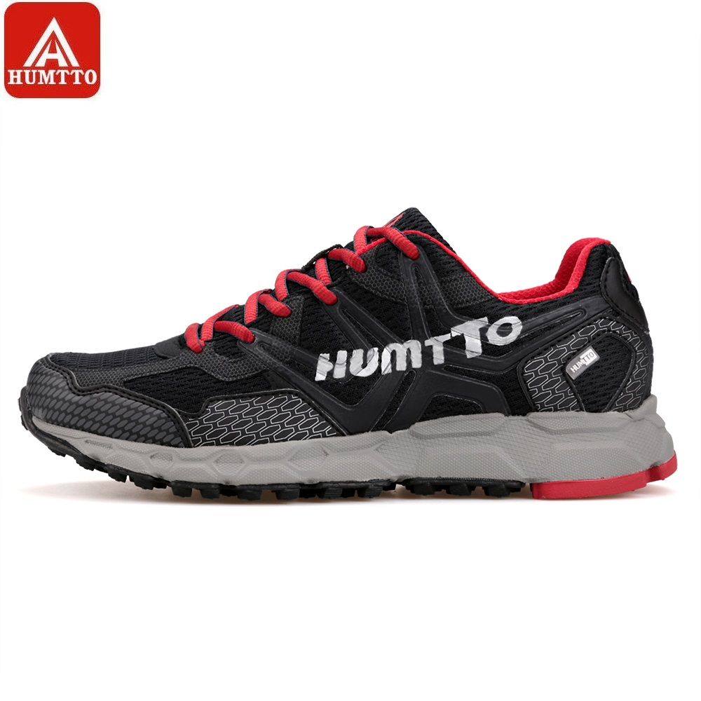 HUMTTO Men's Running Shoes Light Outdoor Low Lace-Up Sports Shoes Cushioning Marathon Professional Breathable Sneakers bmai womens cushioning running shoes athletic breathable outdoor sport marathon sneakers zapatillas deportivas mujer xrmc006