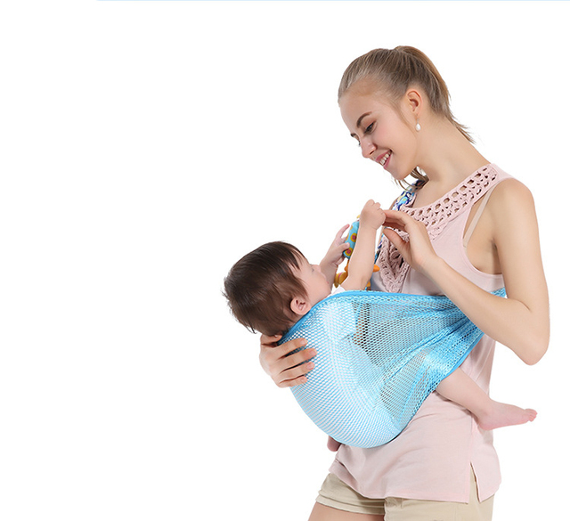 96584fe36a0 Baby Sling Wrap Ring Cover Mesh Ergonomic Toddler Kangaroo Baby Carrying  Belt Wrap Hoodie Infant Carry Baby Wrap For Newborn Hip