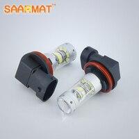 2x H11 H8 H9 140W No Error LED Car Styling Fog Light Bulb For Hyundai Azera