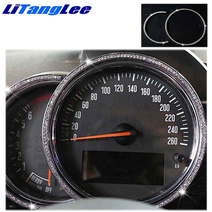 Litanglee pour BMW Mini Cooper Countryman moteur tachymètre bordure décoration