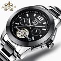 AESOP 9936 Switzerland watches men luxury brand ceramic multi-functional automatic mechanical watch Tourbillon relogio Masculino