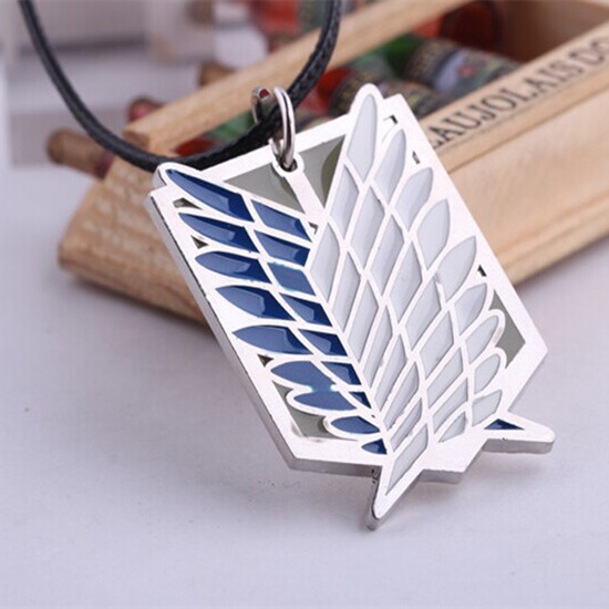 """""""Wings of Liberty"""" Attack On Titan Necklace Series I"""