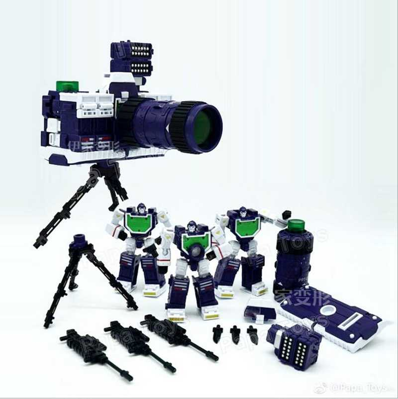 Transformers PPT amplification Ppt01 camera Three Brothers PE camera PaPa Toys
