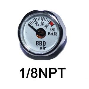 Image 4 - الملحقات كرات اليد مضخة الادسنس PCP أيرغون البسيطة 350bar المانومتر 1/8NPT M10 * 1 قياس