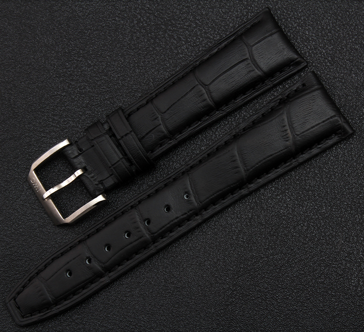 Promotion Watchband Straps Bracelets For men Watches silver Clasp Deployment Buckle Black Brown Watchbands 20mm 21mm 22mm New hollister soldes