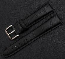 Promoción venda de reloj correas pulseras para relojes de hombre silver corchete hebilla del despliegue negro marrón correas de reloj de 20 mm 21 mm 22 mm nuevo