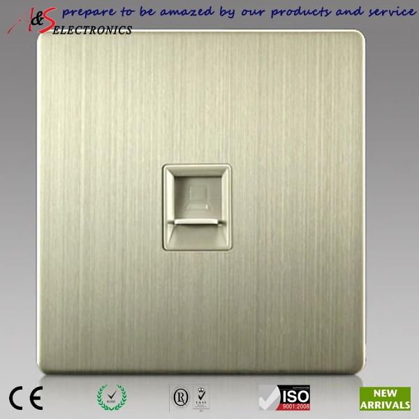 1 gang rj45 cat5e cat6 internet data outlet socket in wall for web rh aliexpress com