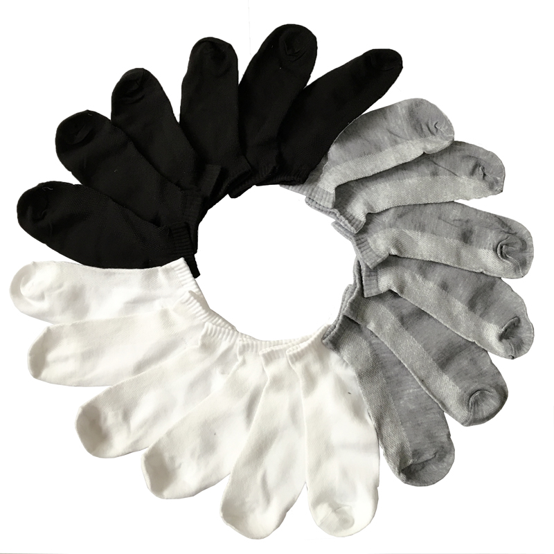 5Pair Men's A Set Of 3d Invisible Socks Men Summer Male Boat Socks For Men Lot Human Socks 3 Color Hot Calcetines Hombre