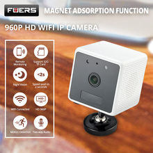 hot deal buy fuers 960p hd battery surveillance wifi ip camera pir motion detection night vision intercom wireless mini cctv security camera