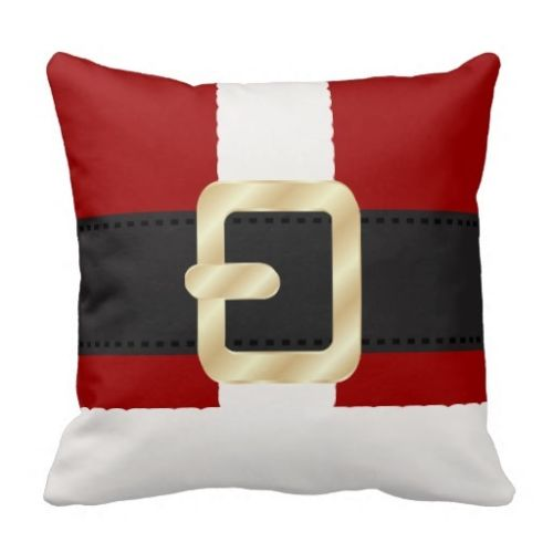3a951ede2c NEW Santa Claus Suit Christmas Cushion Cover Funny Christmas Throw Pillow  Case Fun Red White Decorative Pillow Covers 45x45cm