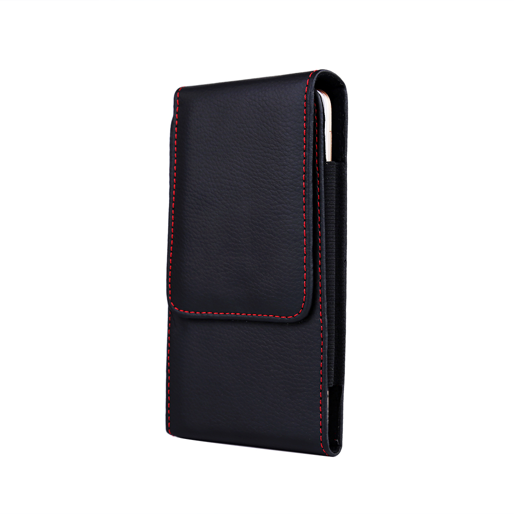 Casual Leather Phone Case With Holster Bag Belt For All Mobile Phones 1