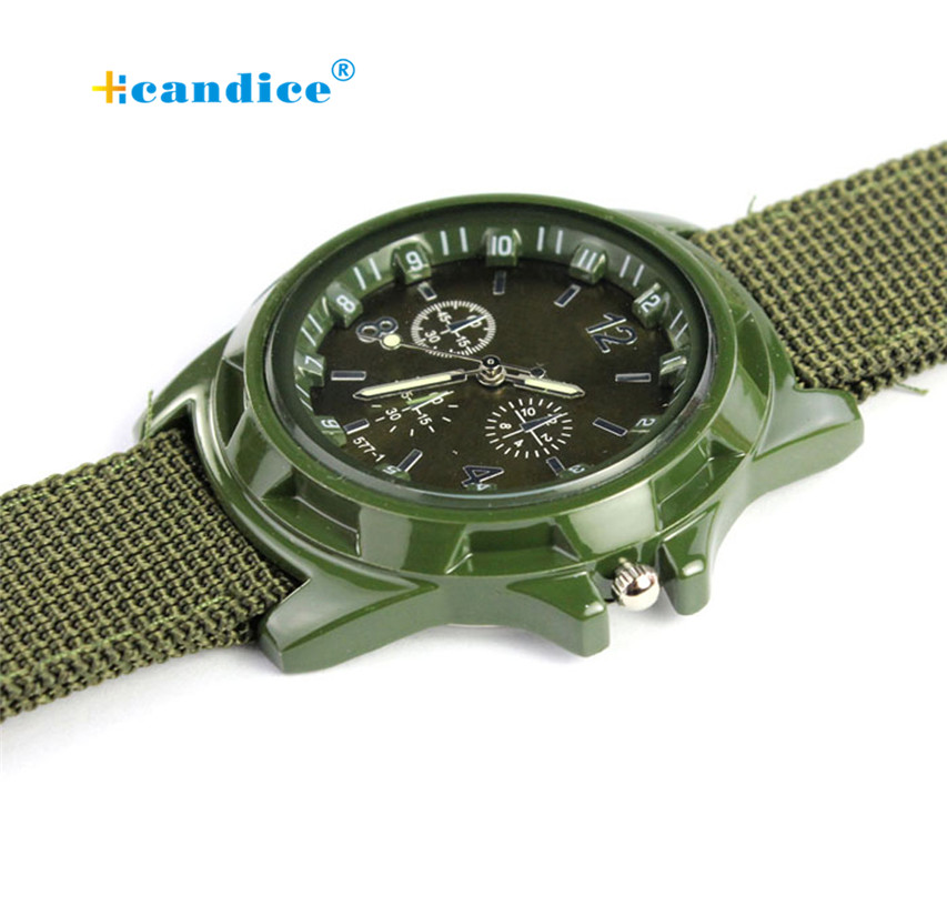 Milky Man Watch Racing Force Military Mens Officer Fabric Band Watch Military Watch New Arrival April27 milky chance paris