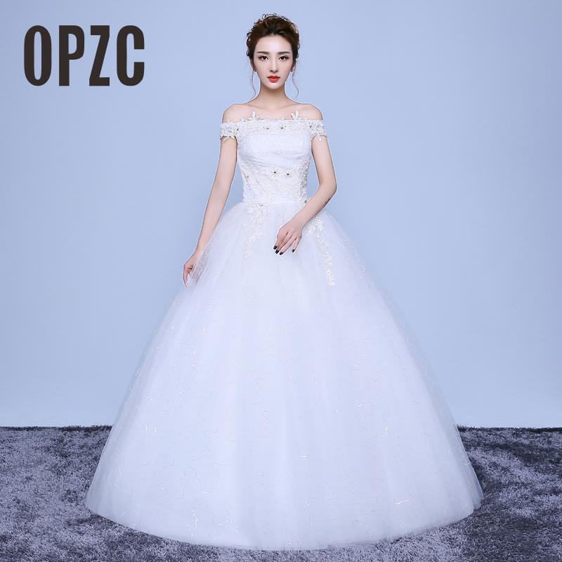 Cheap Wedding Dresses Colorado Springs: Aliexpress.com : Buy Real Photo 2017 New Korean Style Boat