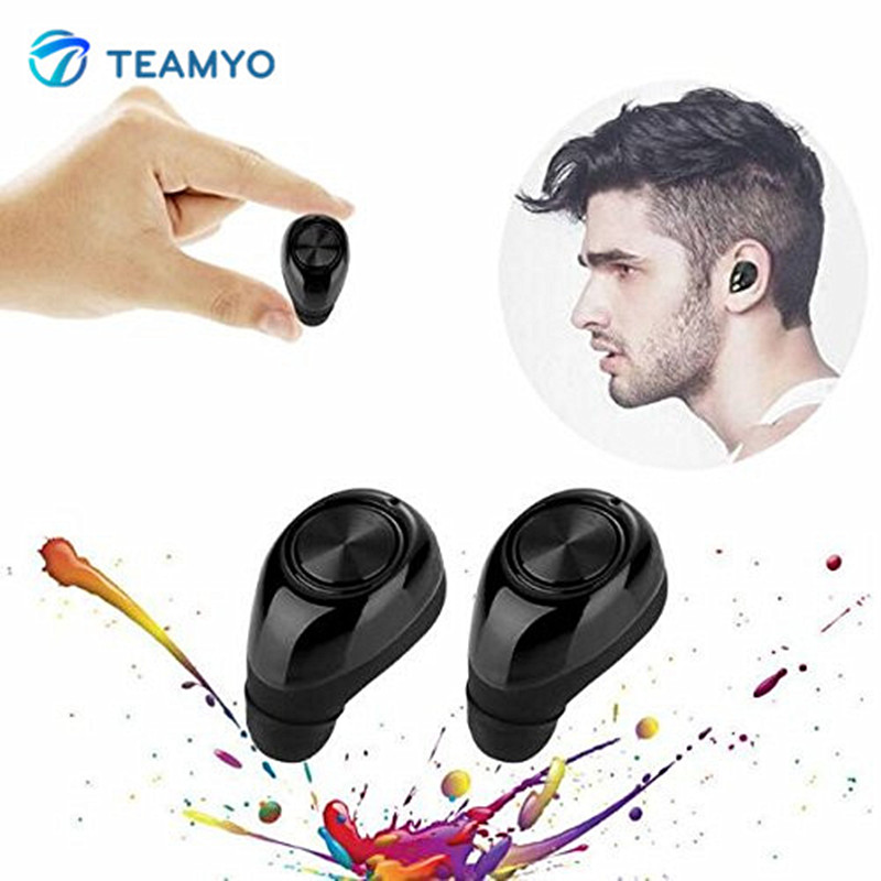 Teamyo TWS11 Wireless Mini Bluetooth Earphone Headset With Microphone Earpiece Twins True Stereo Earphones Handsfree Dual earbud x1t x2t twins true wireless tws mini headset bluetooth earphone csr4 2 headphone with magnetic charging dock for ios android