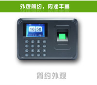 Free Shipping! A5 Fashion Fingerprint Time Attendance Time Recorder Time Clock No Neew Software Excel Report