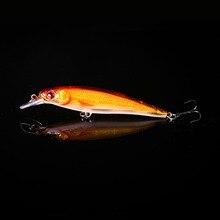 WALK FISH 1PCS Minnow Fishing Lure Laser Hard Artificial Bait 3D Eyes 11cm 13.1g Fishing Wobblers Crankbait Minnows Pesca 0-2M