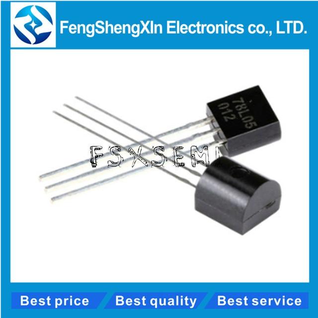50pcs/lot New 78L05 L78L05 Voltage Regulator 7805 TO-92