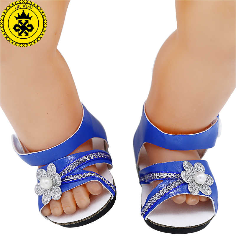 60529a98f615 Detail Feedback Questions about Doll Shoes Cute Blue Purple Sandals ...