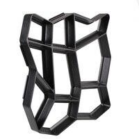 43.5x43.5 cm Molde De Piedra de Pavimentación Pavimento Irregular Pathmate Molde Extendedora