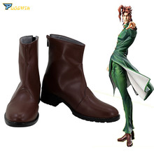 JoJo's Bizarre Adventure Kakyoin Noriaki Cosplay Shoes Boots andrei ivanov bizarre
