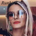 RunBird New 2017 Cat Eye Sunglasses Women Brand Design Vintage Retro Sunglasses Cool Cateye Shades Lady Female gafas de sol R368
