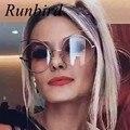 Runbird new 2017 cat eye sunglasses mujer de marca diseño de la vendimia Cateye Shades Lady Mujer gafas de sol Retro Gafas De Sol Frescas R368