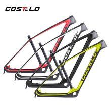 2017 ostateczny Costelo CF Mountain 29er 27.5er MTB bike Carbon Rama Z Włókna Węglowego Rama Roweru rama roweru węgla
