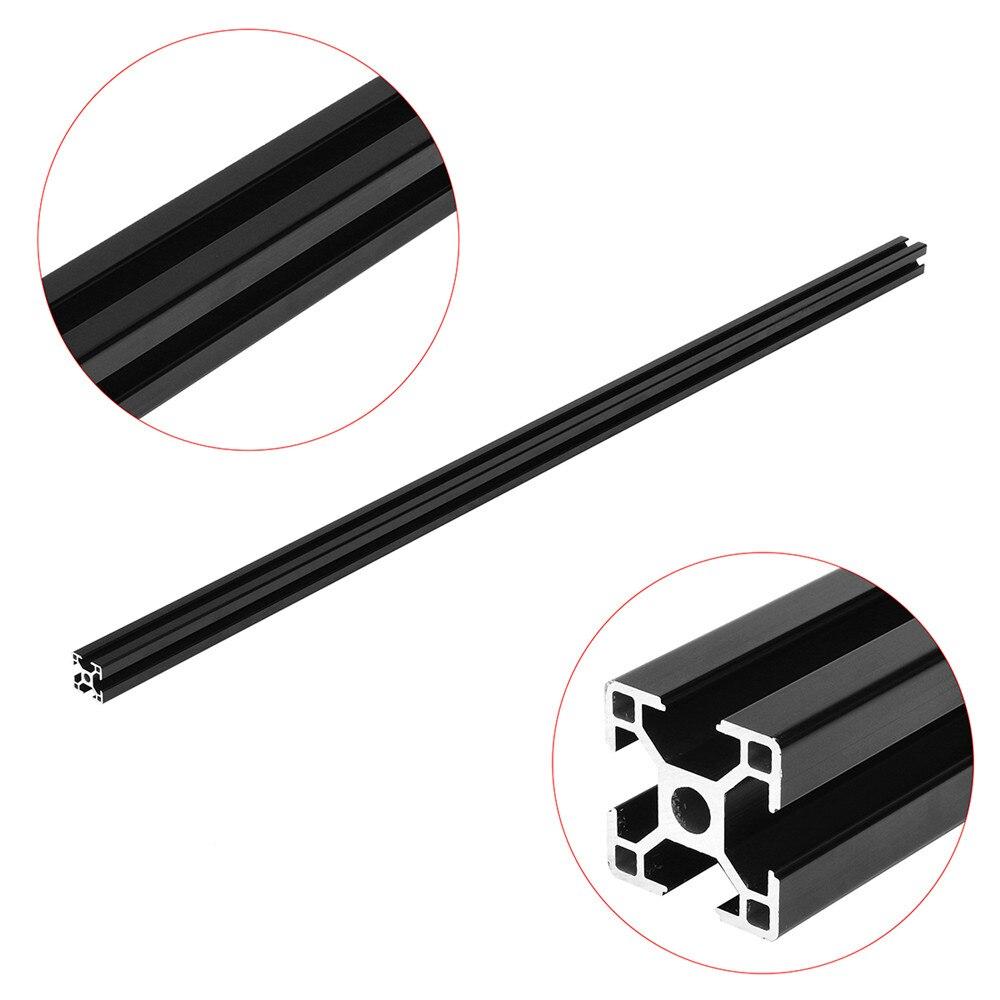 1000mm Lengte Zwart 3030 T Slot Aluminium Profiel Extrusie Frame Voor Diy Cnc 3d Printer Plasma Laser Stand Meubels