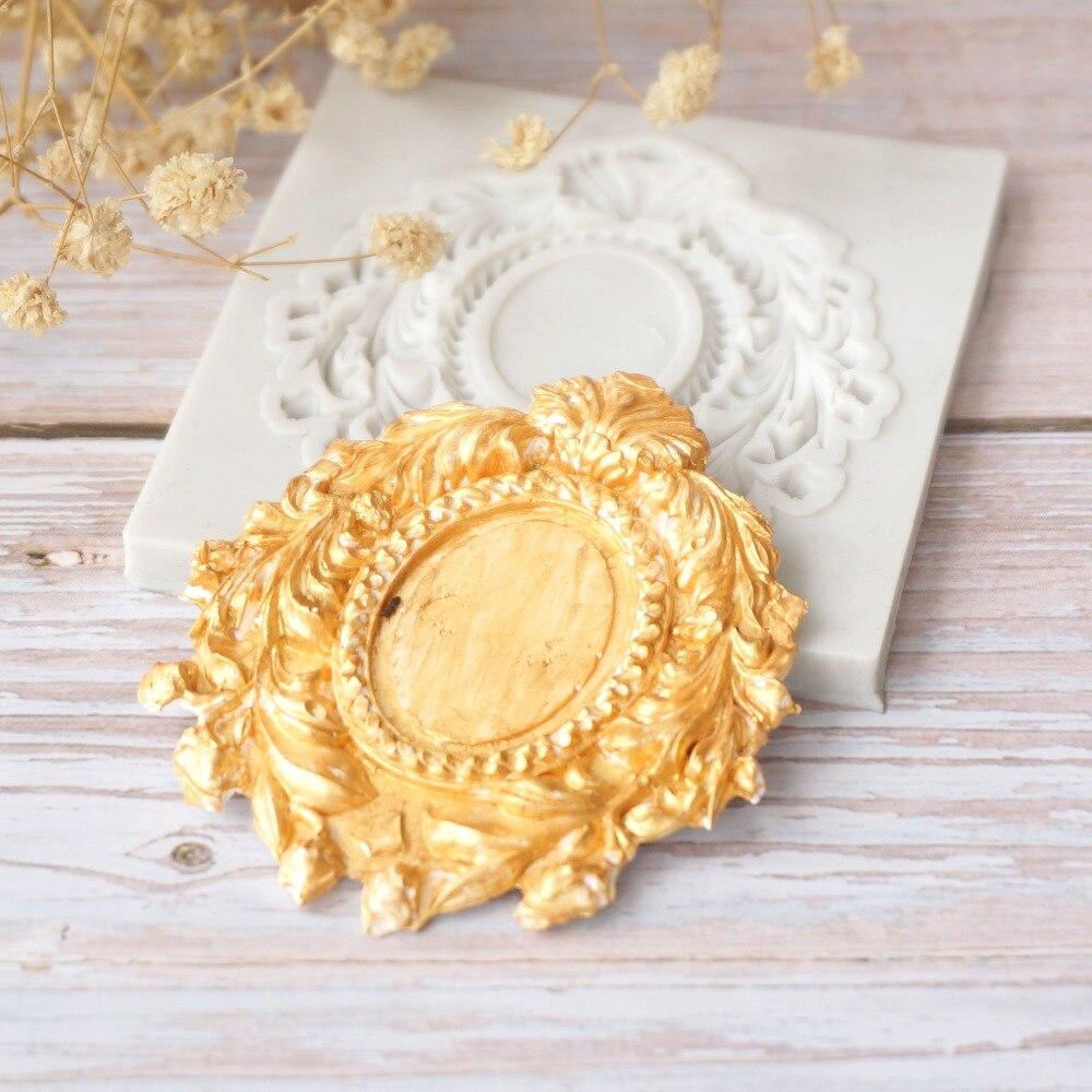 Европейская зеркальная силиконовая форма для украшения тортов