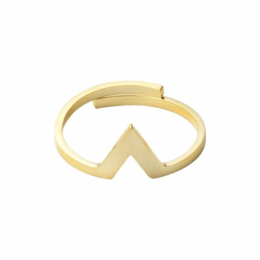 Fashion Gold Color Cross infinity rings for women cubic zirconia best friends jewelry Banquet Party Accessories Wedding Gifts