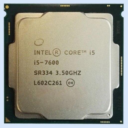 Новый оригинальный Intel i5 7600 7 поколения Core 4 Core 4 темы CPU в ИСПОЛНЕНИИ LGA 1151 шт.