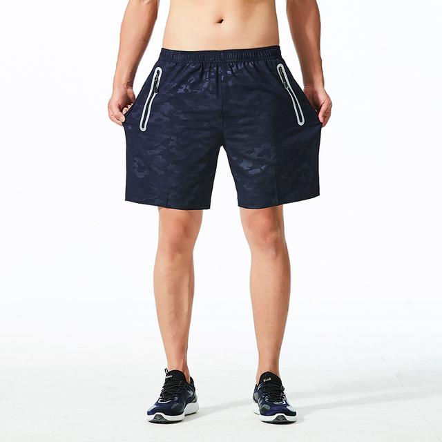 Pantalones Cortos de Camuflaje de Secado Rápido para Hombres