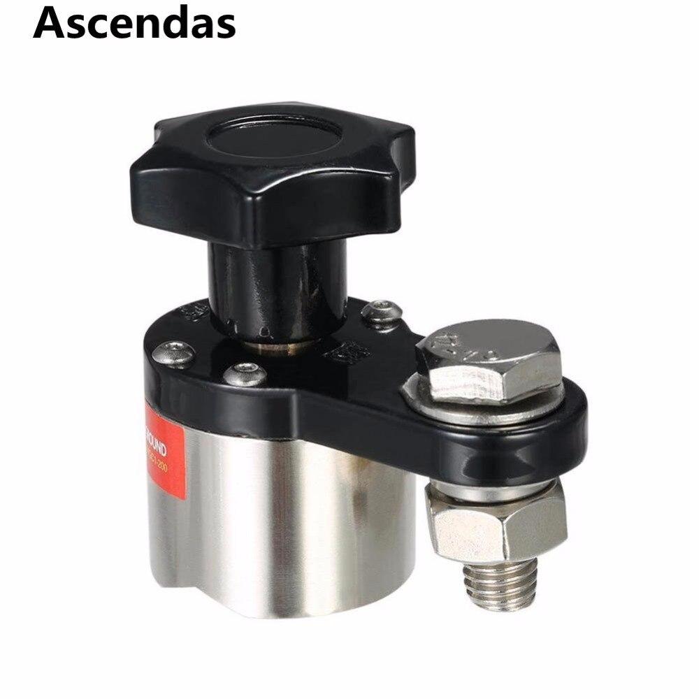 где купить Small Size Neodymium Magnet Magnetic Welding Ground Clamp Grounding Magnet Connector for Welding Machine TP-075 дешево