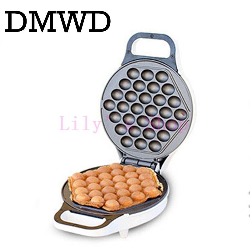 DMWD MINI portable Hong Kong electric eggs bubble waffle Maker QQ egg Aberdeen omelet machine eggettes puff cake pan EU US plug oem high quality hot sale industrial mini qq egg waffle maker with good feedback