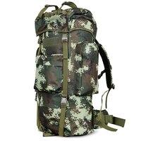 High Quality 100L Outdoor Backpack Unisex Climbing Bag Waterproof Nylon Travel Sport Mountaineer Bag Zipper Hiking Rucksack